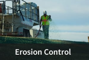 Erosion Control through Hydroseeding